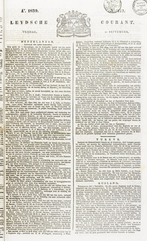 Leydse Courant 1839-09-20