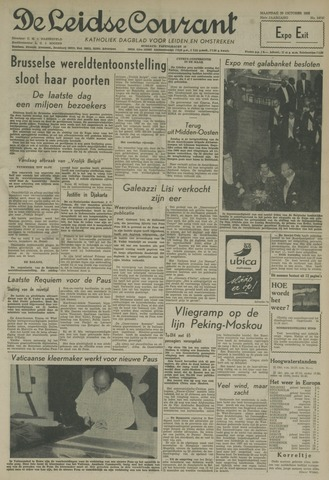 Leidse Courant 1958-10-20