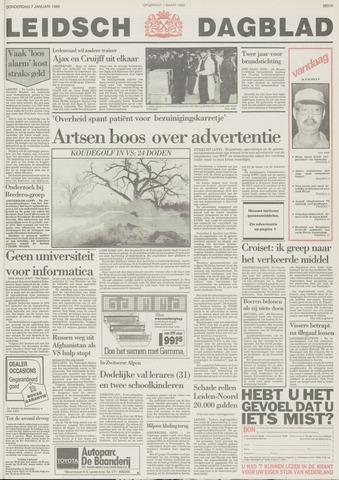 Leidsch Dagblad 1988-01-07