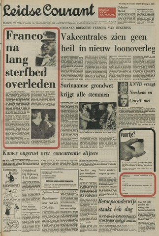 Leidse Courant 1975-11-20