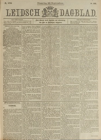 Leidsch Dagblad 1901-09-23