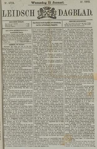 Leidsch Dagblad 1882-01-11