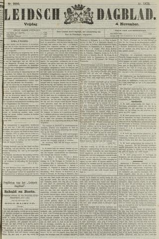 Leidsch Dagblad 1870-11-04