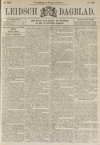 Leidsch Dagblad 1892-09-09