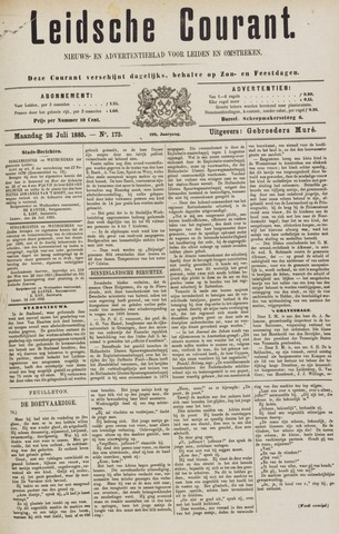 Leydse Courant 1885-07-27