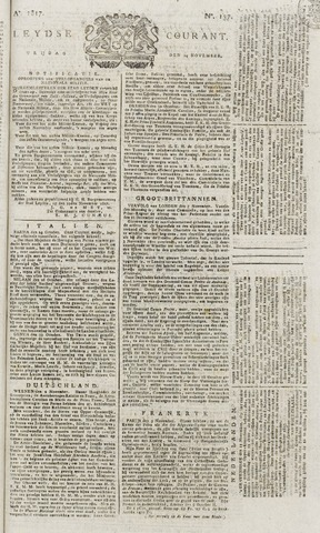 Leydse Courant 1817-11-14