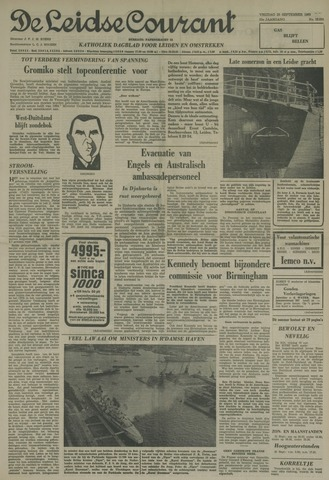 Leidse Courant 1963-09-20