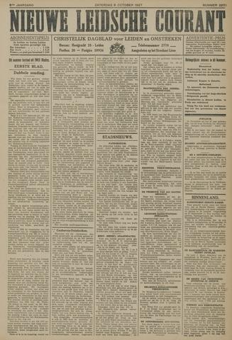 Nieuwe Leidsche Courant 1927-10-08