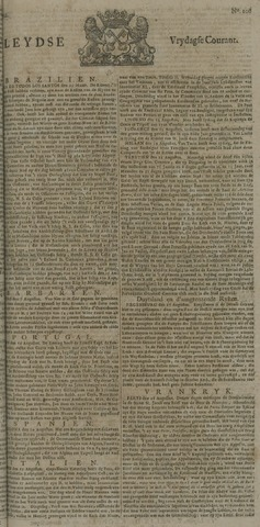 Leydse Courant 1722-09-04