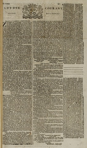 Leydse Courant 1795-01-09
