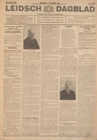 Leidsch Dagblad 1928-10-01