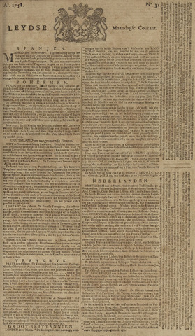 Leydse Courant 1758-03-13