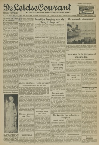 Leidse Courant 1952-01-05