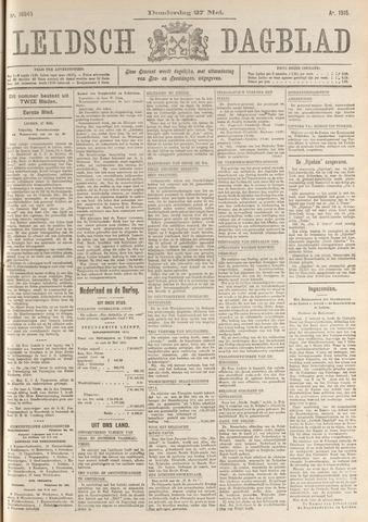 Leidsch Dagblad 1915-05-27