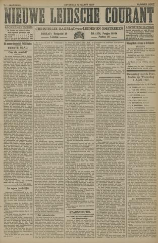 Nieuwe Leidsche Courant 1927-03-12