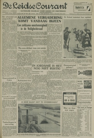 Leidse Courant 1958-08-08