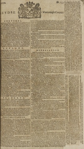 Leydse Courant 1770-10-31