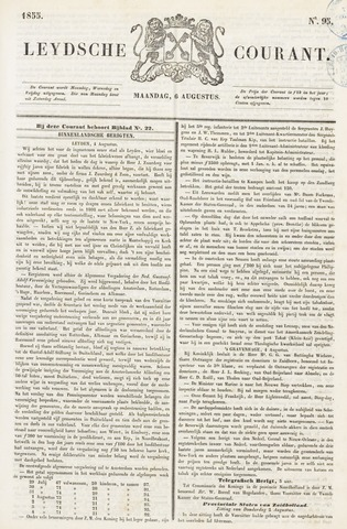 Leydse Courant 1855-08-06