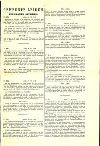 Handelingen van de Raad 1944-07-06