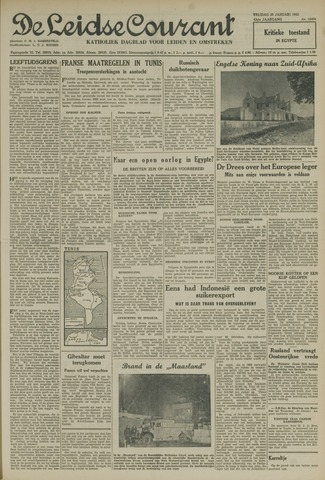 Leidse Courant 1952-01-25