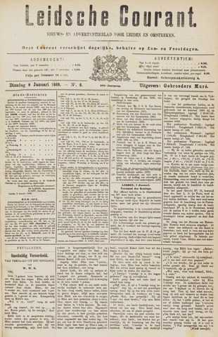 Leydse Courant 1889-01-08
