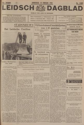Leidsch Dagblad 1938-02-10