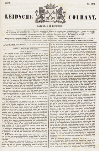 Leydse Courant 1873-12-27