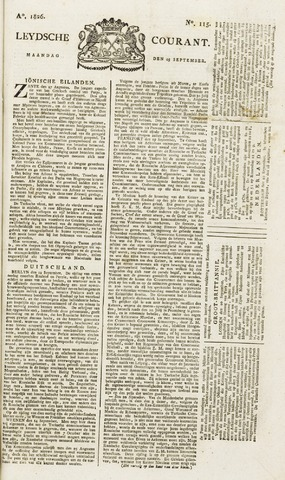 Leydse Courant 1826-09-25