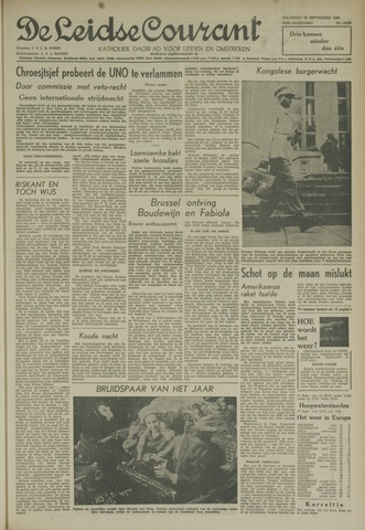 Leidse Courant 1960-09-26