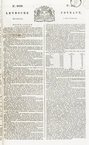 Leydse Courant 1839-09-02