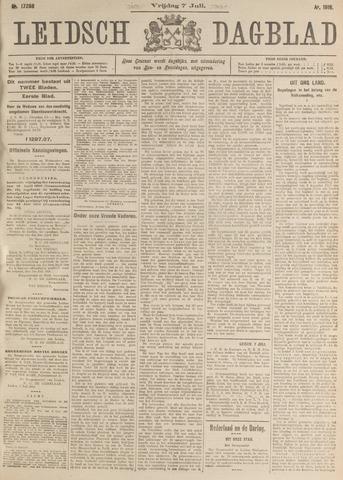 Leidsch Dagblad 1916-07-07