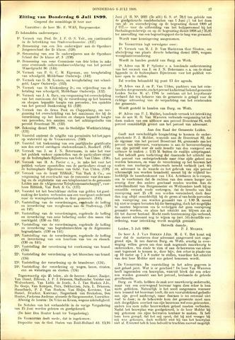 Handelingen van de Raad 1899-06-22