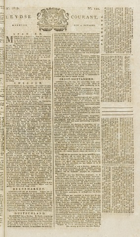 Leydse Courant 1819-10-11