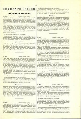 Handelingen van de Raad 1943-07-01