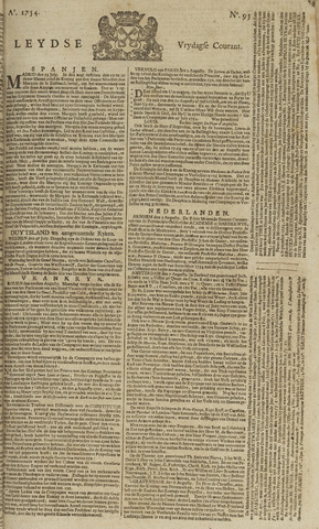 Leydse Courant 1754-08-09