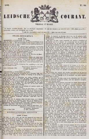 Leydse Courant 1882-03-17