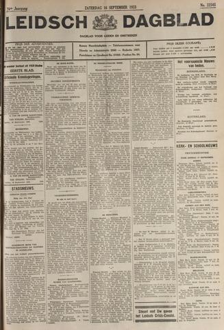 Leidsch Dagblad 1933-09-16