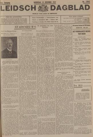 Leidsch Dagblad 1937-12-15