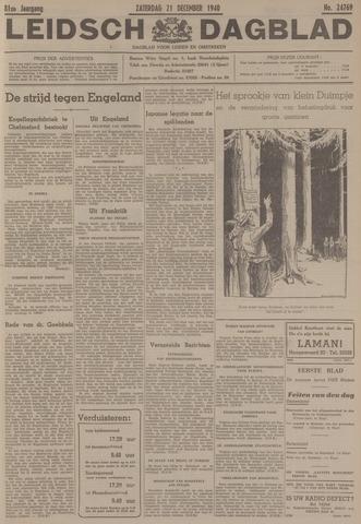 Leidsch Dagblad 1940-12-21
