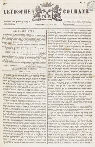 Leydse Courant 1869-01-13