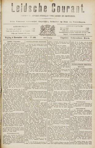 Leydse Courant 1889-11-08