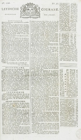 Leydse Courant 1828-03-05