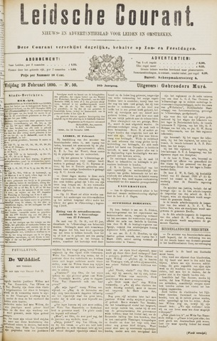 Leydse Courant 1890-02-28