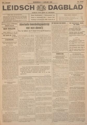 Leidsch Dagblad 1930