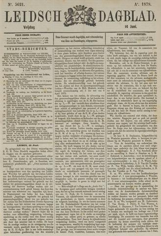 Leidsch Dagblad 1878-06-14