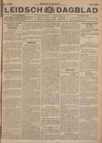Leidsch Dagblad 1926-08-09