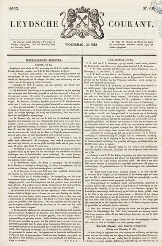 Leydse Courant 1855-05-23