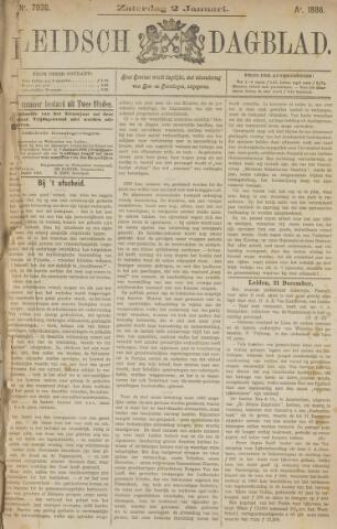 Leidsch Dagblad 1886
