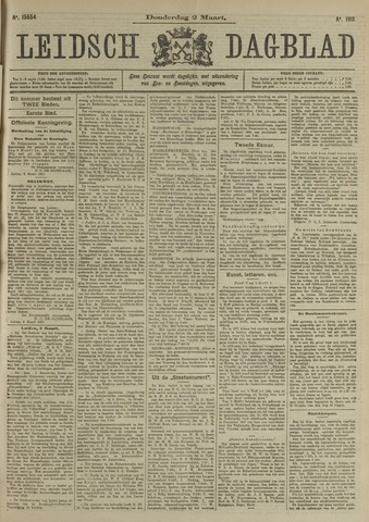 Leidsch Dagblad 1911-03-02