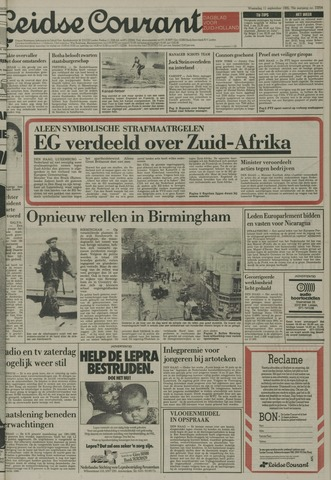 Leidse Courant 1985-09-11